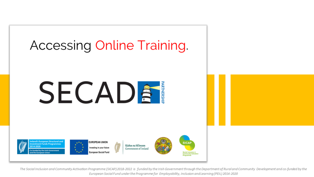 Accessing online training